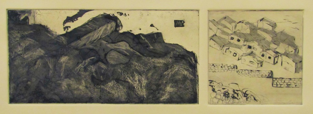 "etching, aquatint, 12""x22.5"", 2012"